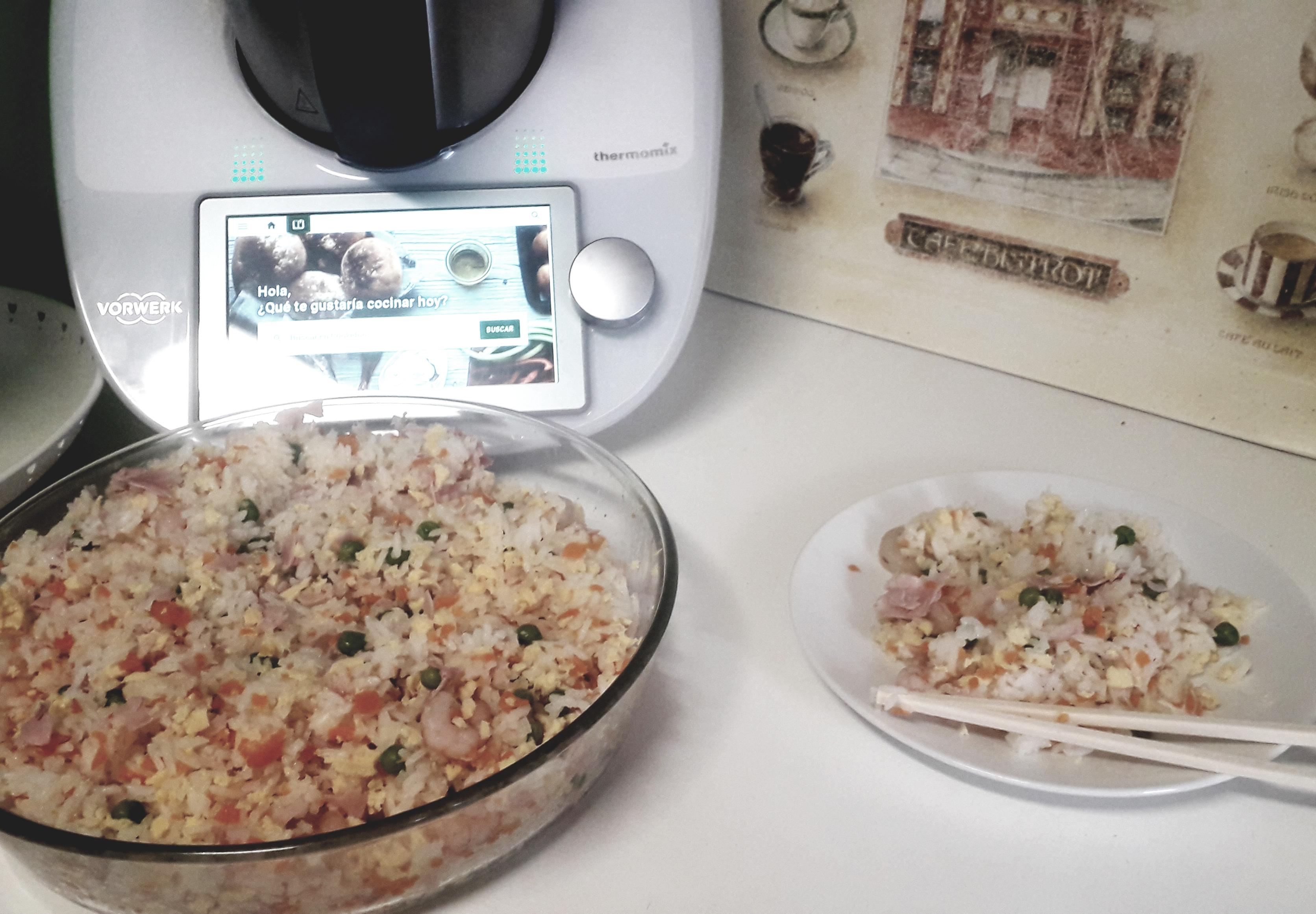 Arroz Tres Delicias Thermomix Cocción En Varoma Blog De Monica Aparicio Garcia De Thermomix Majadahonda