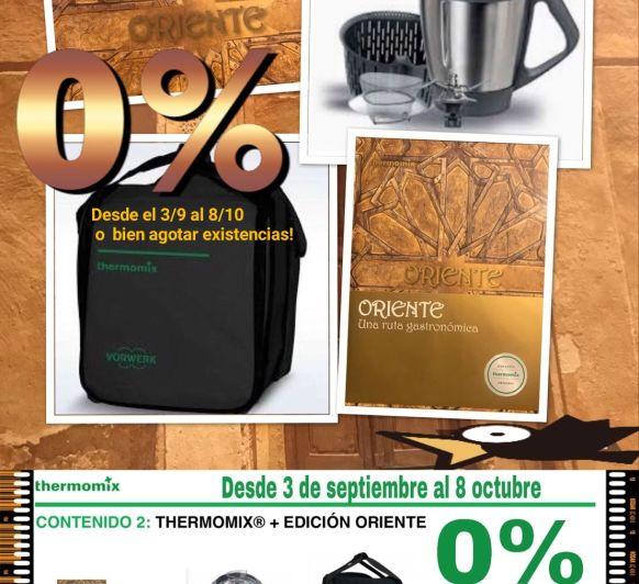 Thermomix® ️Edición Oriente, financiable en 24 cuotas, sin intereses!!!