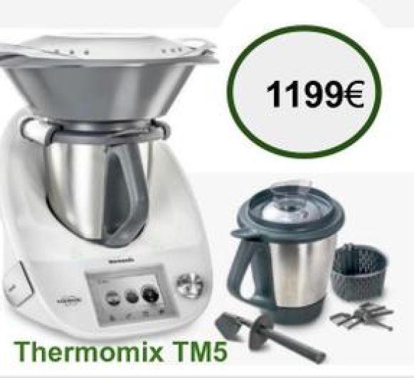 Thermomix® TM5 y segundo vaso de regalo