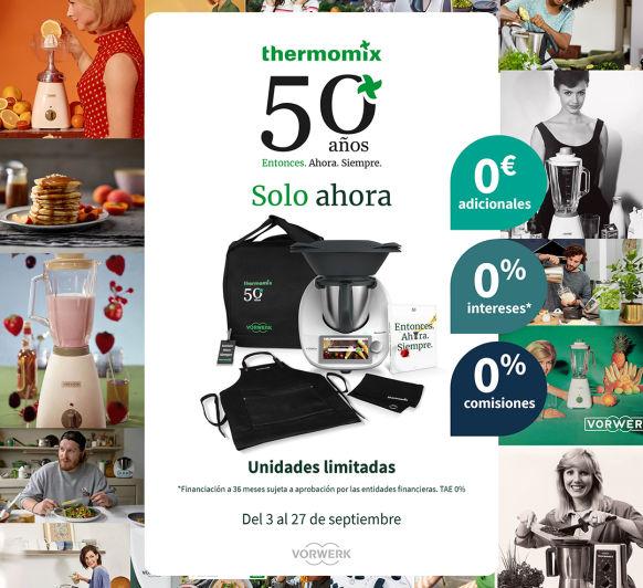 Celebramos el 50 aniversario de Thermomix®