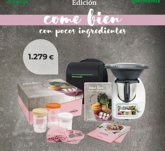 ''Come bien con pocos ingredientes'' y Thermomix® Majadahonda