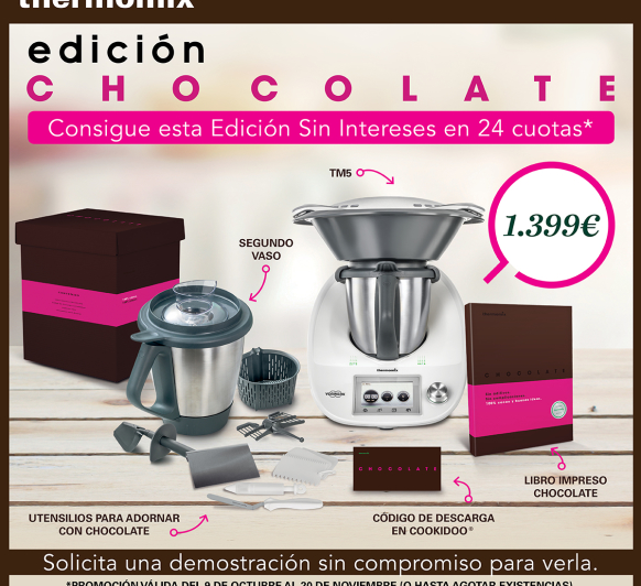 APROVECHA LA FINANCIACION GRATUITA DE LA TM5 CON LA EDICION CHOCOLATE