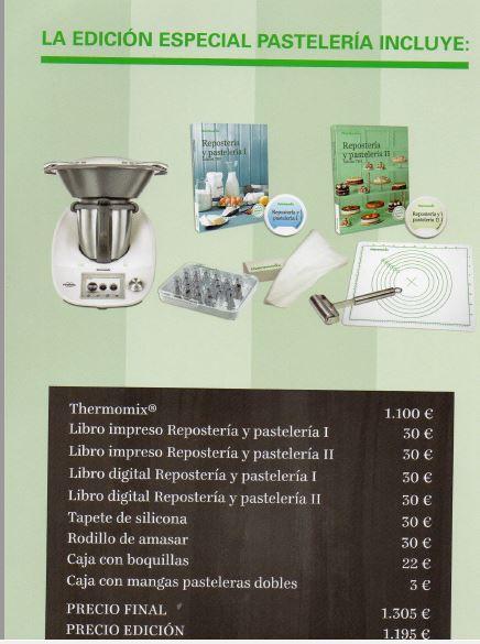 Edición Pastelería