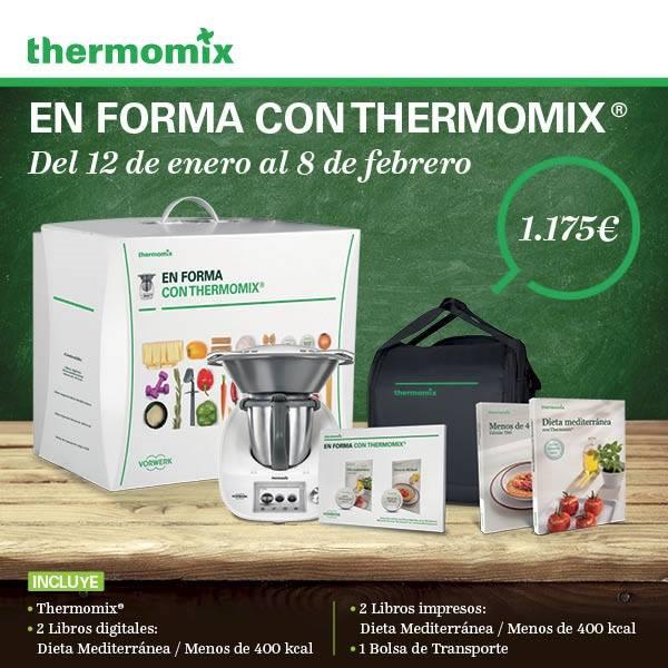 Para Ayudarte con tus buenos propósitos del 2016, Nueva Edición Especial !En Forma con Thermomix® ¡