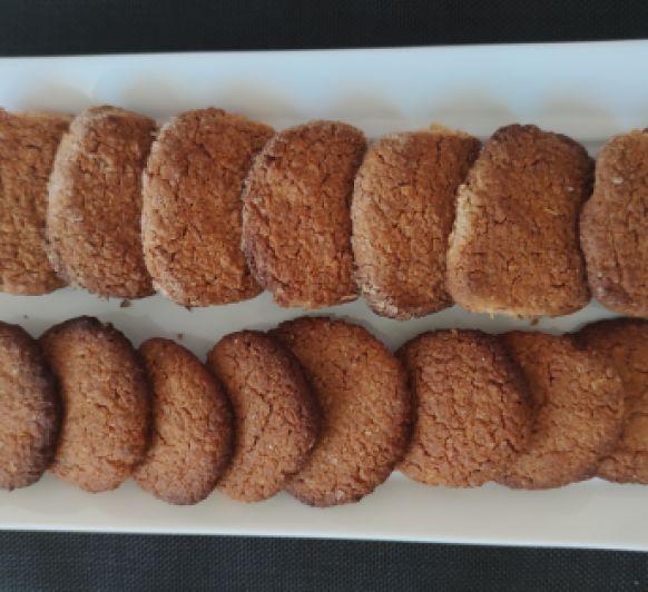 Cookies de avena con harina integral y miel con Thermomix® -Majadahonda-Madrid