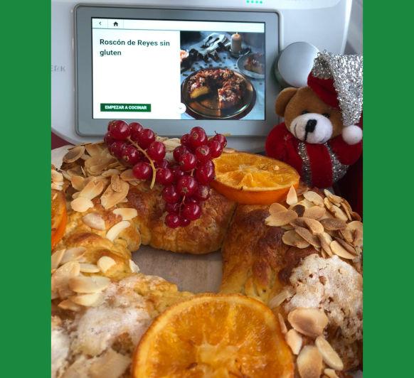Roscón de Reyes sin gluten con Thermomix®