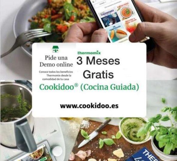 3 meses de suscripción GRATUITA a cookidoo