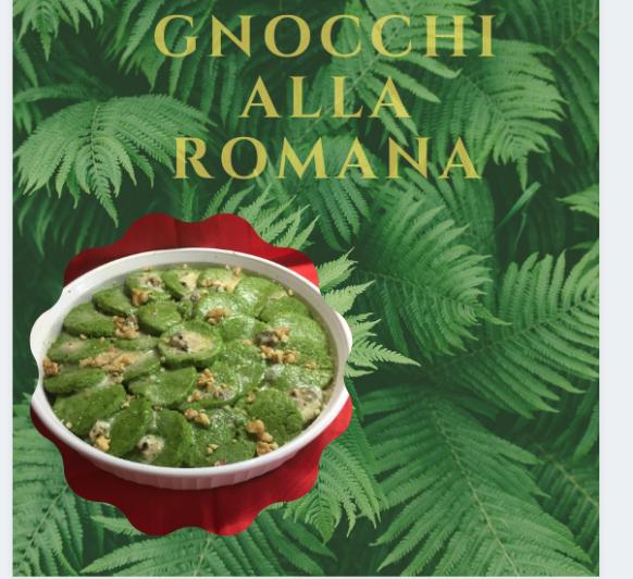 Gnocchi verdi alla romana con Thermomix®