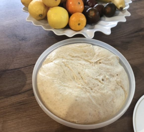 Pan de torrijas con fermento natural, con Thermomix® ️desde Majadahonda, Madrid