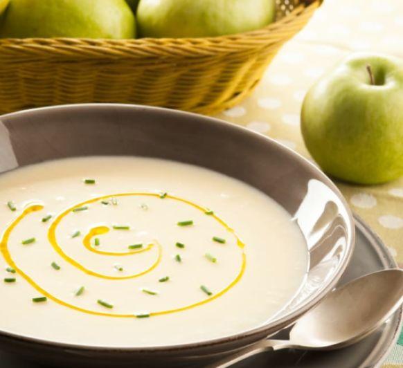 Sopa fría de manzana y puerro con Thermomix® desde Majadahonda Madrid