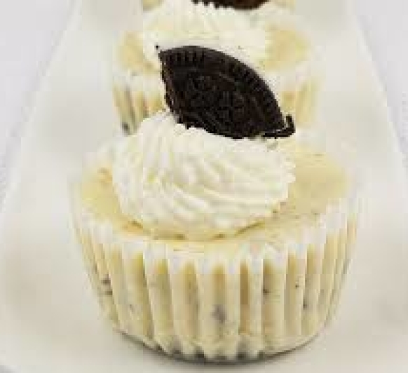 Cheesecakes de oreo