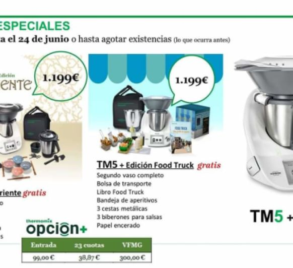 ÚLTIMAS UNIDADES DE Thermomix® TM5