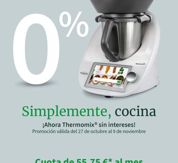 AMPLIAMOS EL 0% EN Thermomix®