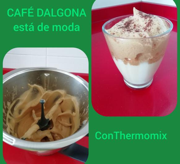 Café dalgona (espuma de café) con Thermomix® desde Majadahonda en Madrid