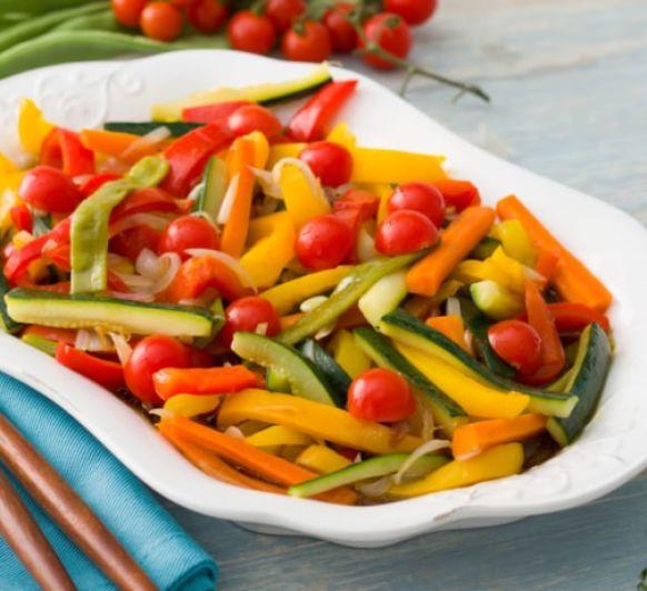 Verduras variadas marinadas con Thermomix® desde Illescas