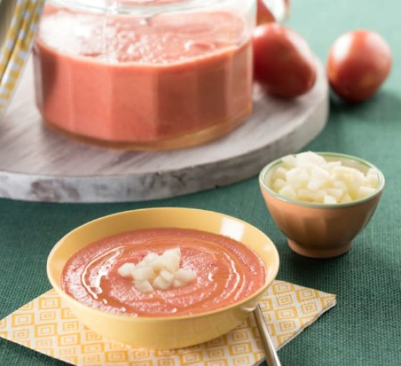 Gazpacho de melón con Thermomix® desde Majadahonda Madrid