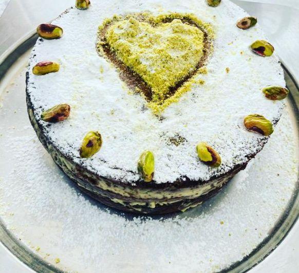 Una tarta con amor para papá