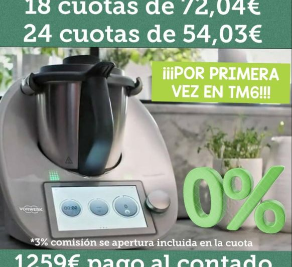 Thermomix® sin intereses!!!