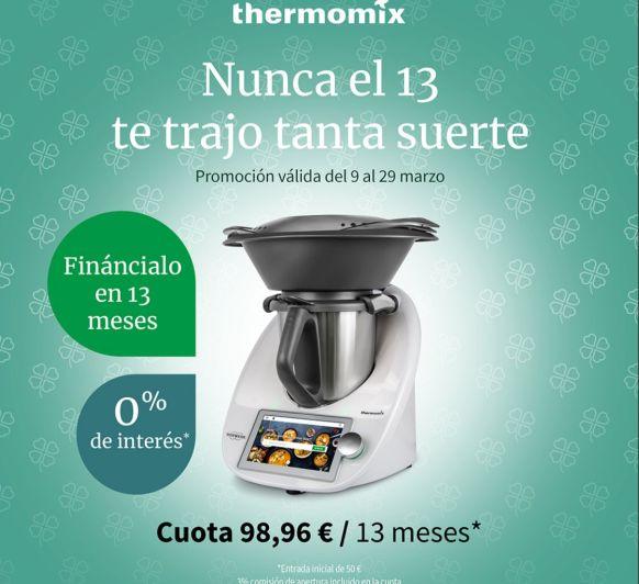FINANCIA AL 0% TU Thermomix®