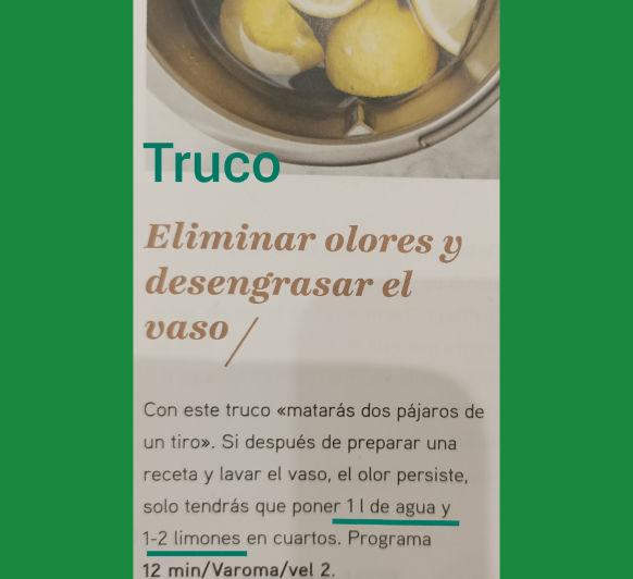 TRUCO LIMPIEZA Thermomix®