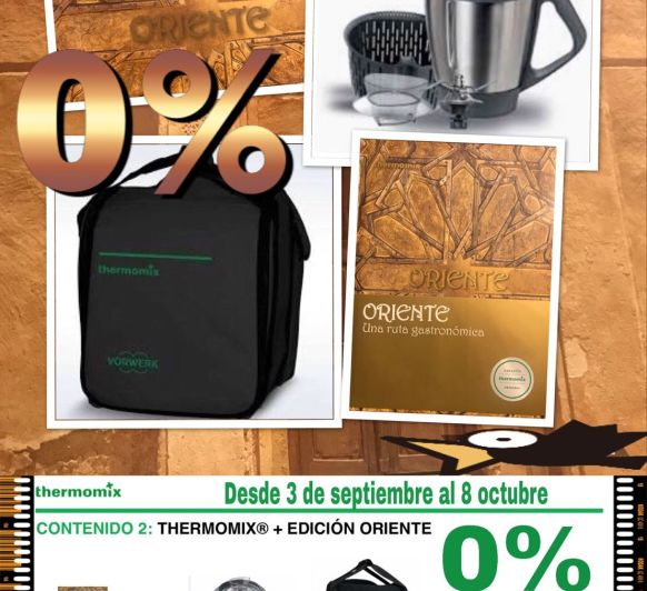 Thermomix® ED. ORIENTE en 24 MESES SIN INTERESES