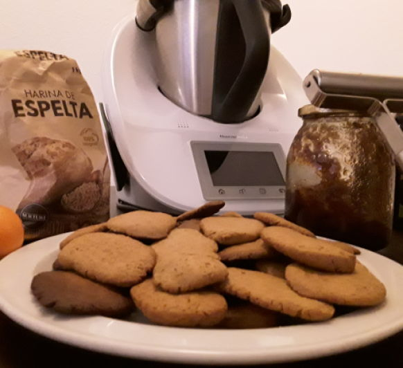 Galletas integrales con miel