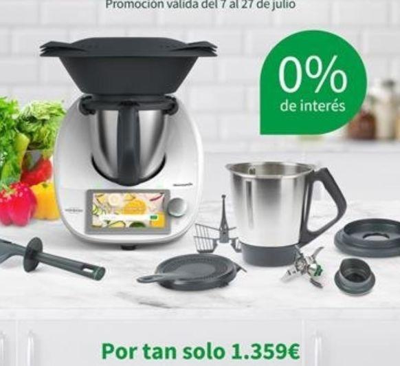 TM6 doble vaso y 0% interés- Thermomix® -Majadahonda- Madrid