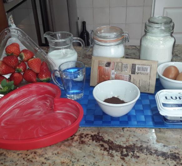 Gâteau magique au chocolat (Pastel mágico de chocolate)