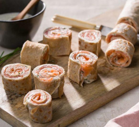 Crepes de sarraceno con salmón con Thermomix® desde la sierra de Madrid