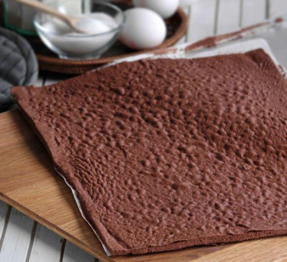 Bizcocho plancha de chocolate con Thermomix® desde Majadahonda Madrid