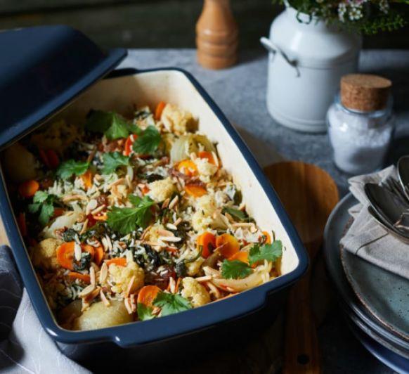 Arroz indio con verduras al horno con Thermomix® desde Majadahonda Madrid