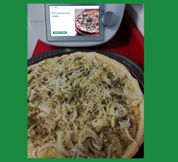 Pizza genovesa de cebolla con Thermomix® desde Majadahonda en Madrid
