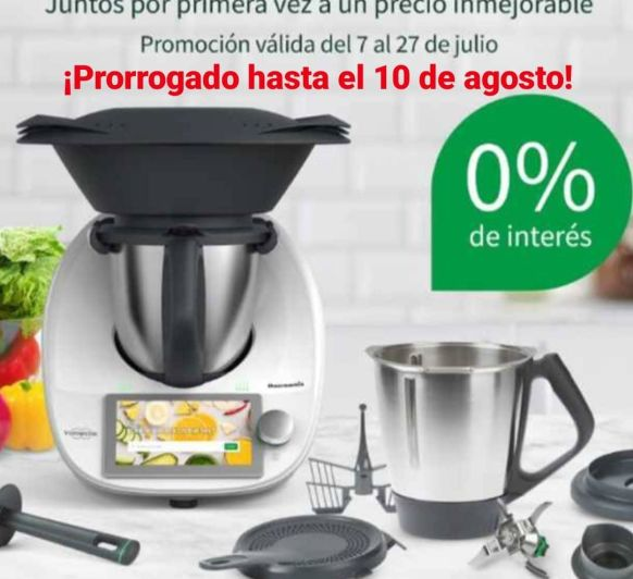 TU Thermomix® CON FINANCIACIÓN ESPECIAL AL 0% Y DOBLE VASO - MAJADAHONDA - MADRID
