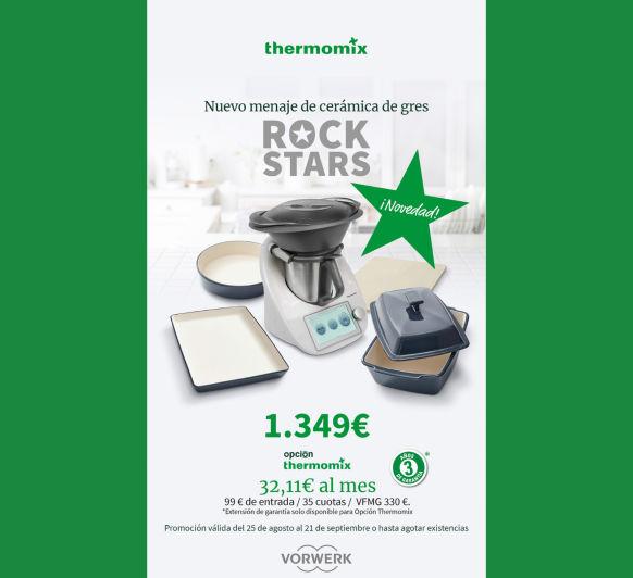¡¡¡PROMOCIÓN ROCKSTARS Thermomix® !!! - MADRID