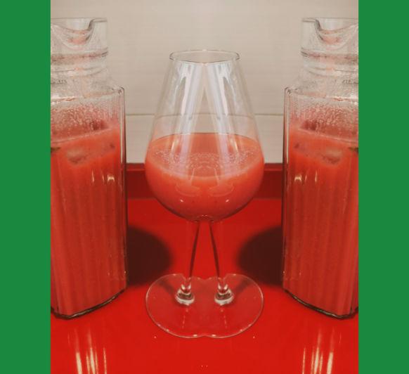 Bebida para la piel (pomelo, manzana y miel) con Thermomix® desde Majadahonda en Madrid