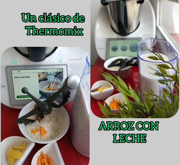 ARROZ CON LECHE CON Thermomix® DESDE MAJADAHONDA EN MADRID