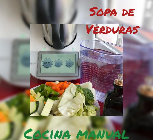 SOPA DE VERDURAS CON Thermomix®
