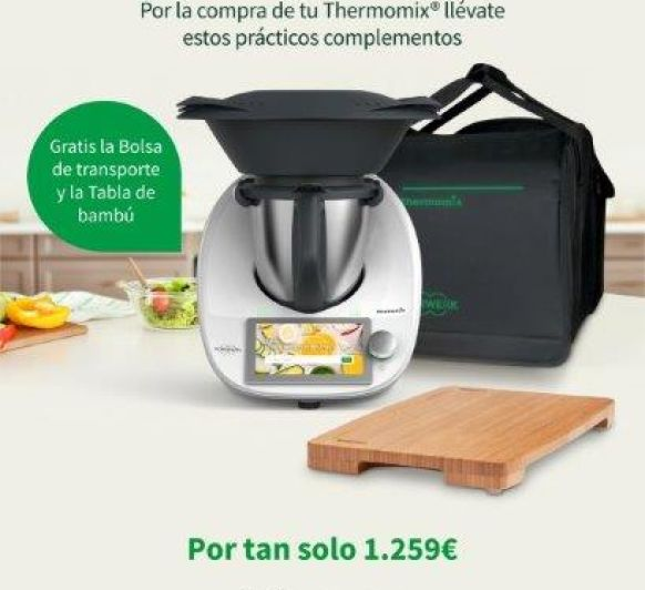 ¡¡¡Thermomix® TM6 CON DOS ESTUPENDOS REGALOS!!! - MAJADAHONDA - MADRID